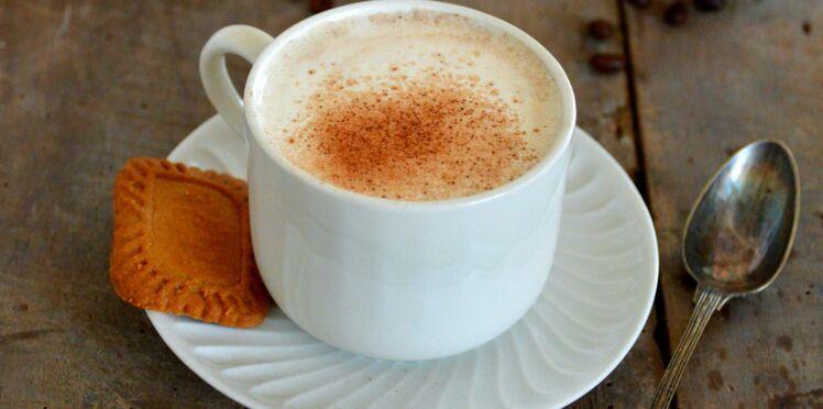 Cappuccino soja, petit épeautre et noisette