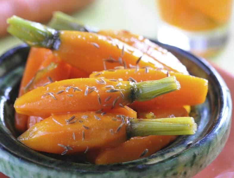 Légumes nouveaux sucrés-salés