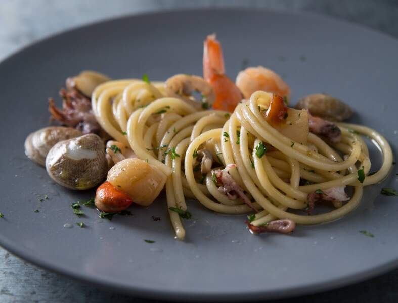 Spaghetti Academia Barilla aux fruits de mer