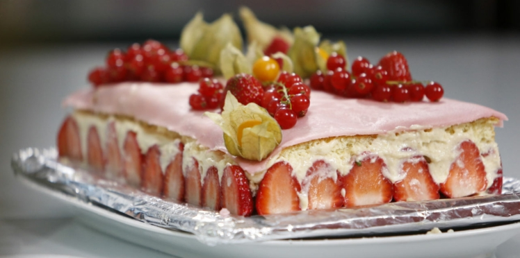 Le fraisier de Martine