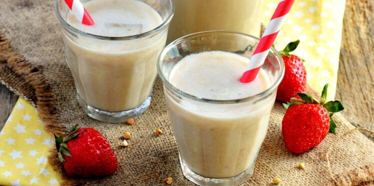 Milkshake banane et miel