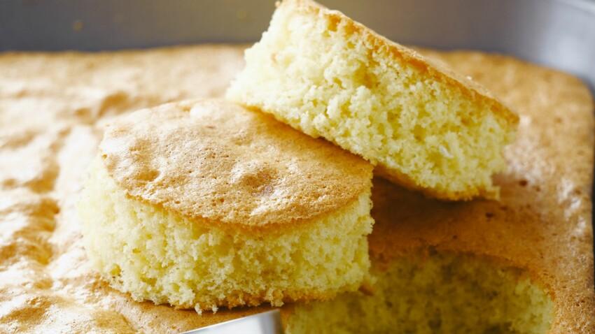 Gâteau Nature Moelleux Découvrez Les Recettes De Cuisine De Femme Actuelle Le Mag