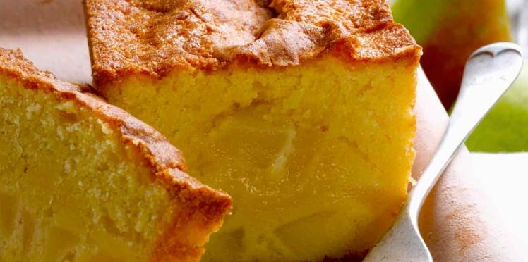 Cake de Sophie Dudemaine aux poires