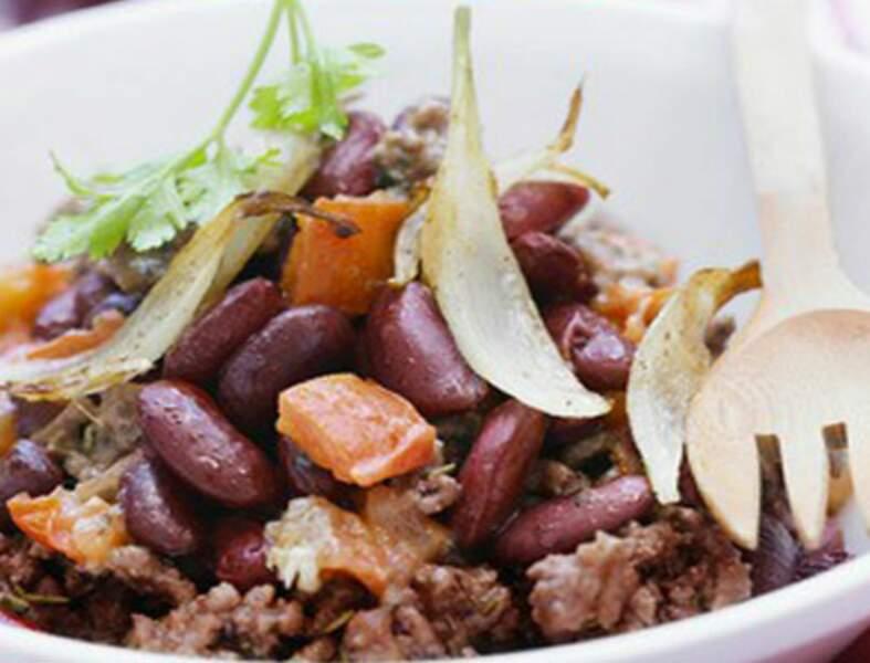 Chili con carne dietétique