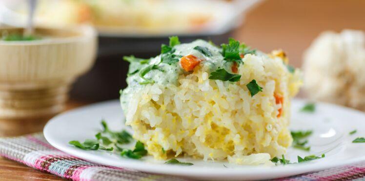 Gratin de riz
