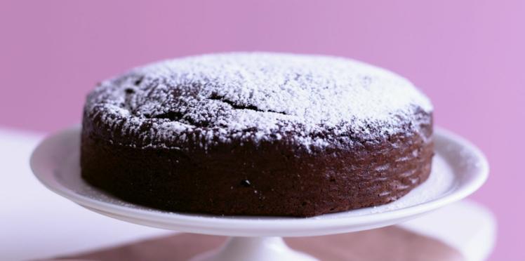 Gâteau au chocolat à la crème fraîche