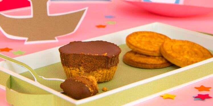 Cheesecake tout chocolat à la galette