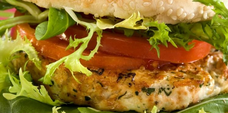 Hamburger à la viande de dinde