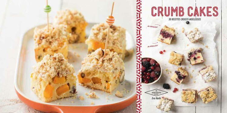 Crumb cake façon flan potimarron et noisettes
