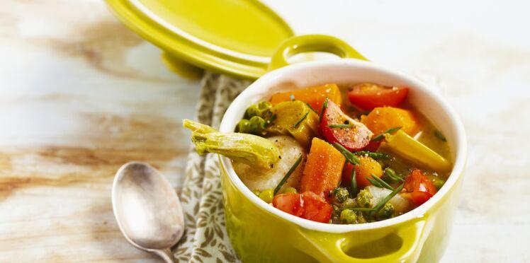 Blanquette de légumes au sésame