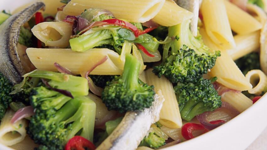 Pâtes aux brocolis et anchois