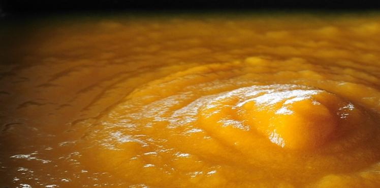 Soupe rustique au potimarron