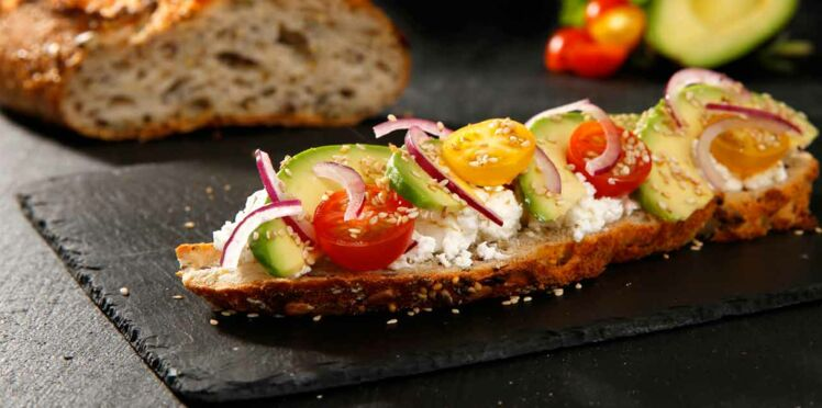 Tartines végétariennes: nos meilleures recettes de snack sains et gourmands