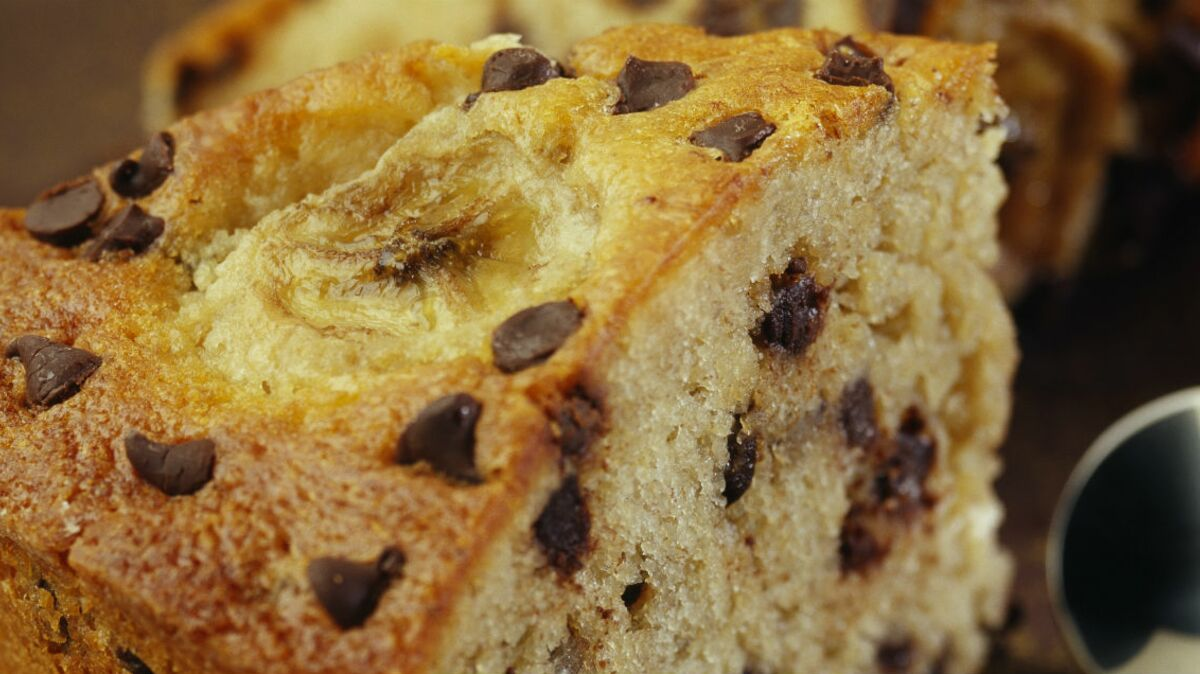 Gâteau au yaourt chocolat-banane