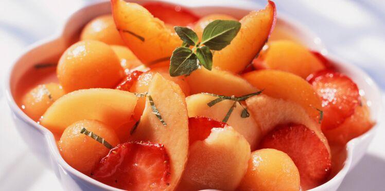 Minestrone de fruits frais