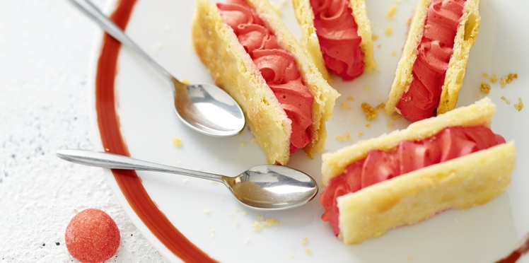 Mille-feuille aux fraises Tagada