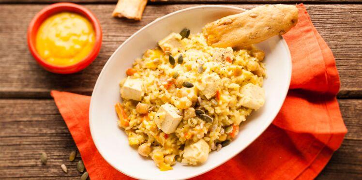 Cookeo : Cur'riz, pois chiche et tofu