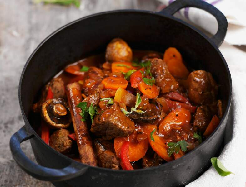 Ragoût de bœuf aux carottes