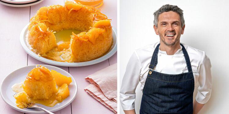 Gâteau citron-orange comme un baba de Christophe Adam