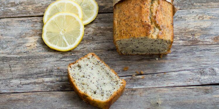 Cake au citron et pavot, sans beurre ni lait, de Laurent Mariotte