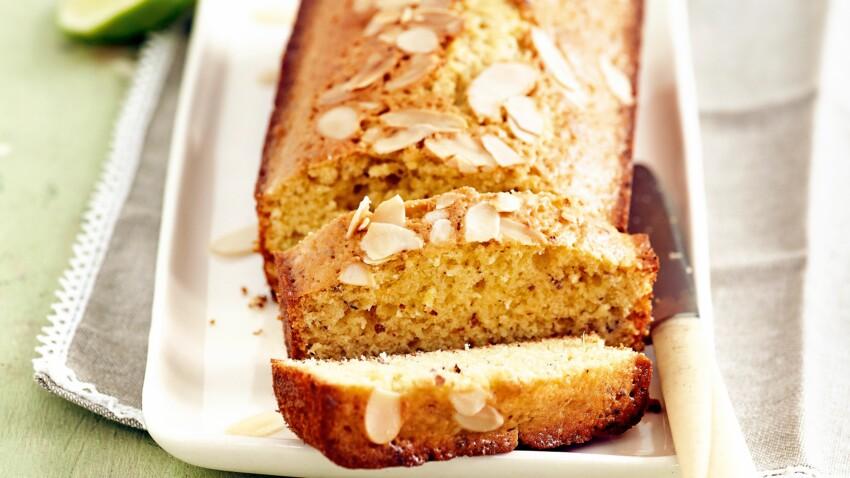 Cake léger citron-amandes de Laurent Mariotte