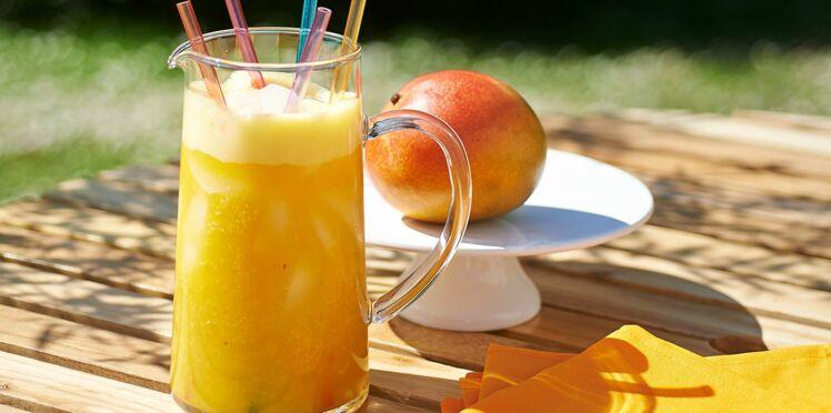 Cocktail au thé ananas et papaye