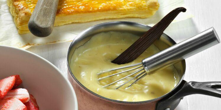 Crème patissière pour tarte