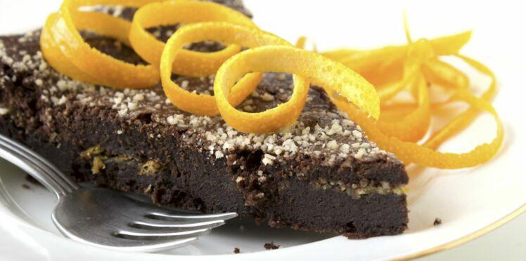 Moelleux au chocolat à l'orange pour diabétiques