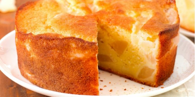 Gâteau au yaourt et à la poire