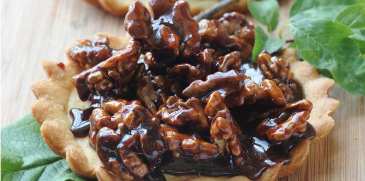 Tartelettes aux noix caramélisées