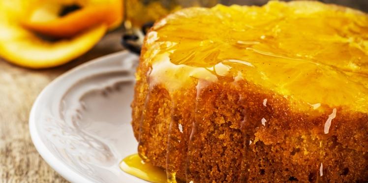 Gâteau au sirop d'orange
