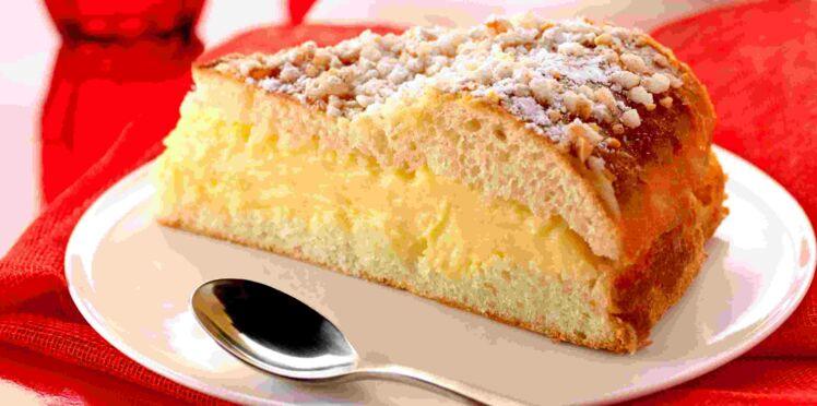 Gâteau à la crème pâtissière facile