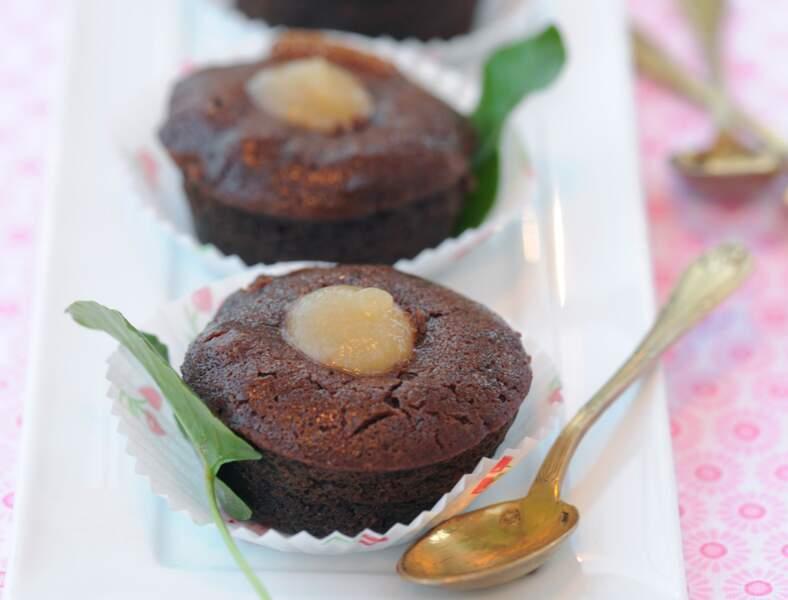 Moelleux chocolat-pomme