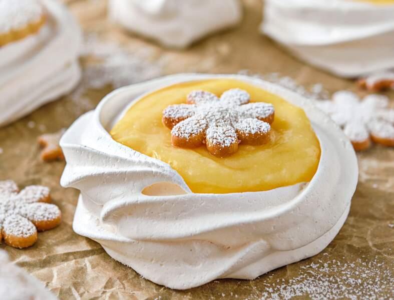 Tartelettes inversées aux citrons