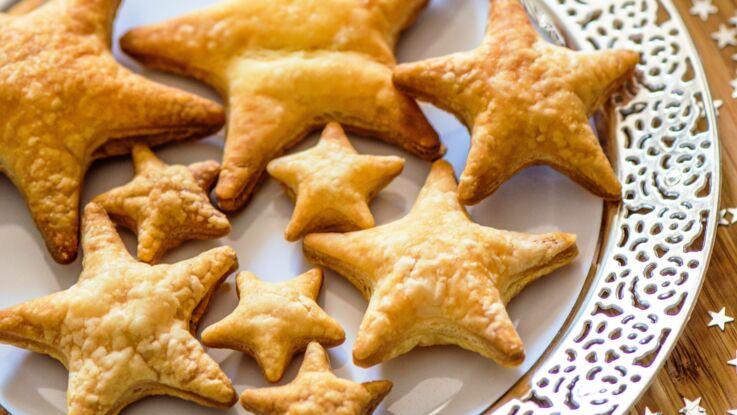 Apéro festif avec une pâte feuilletée pour un Noël facile, rapide… et croustillant !