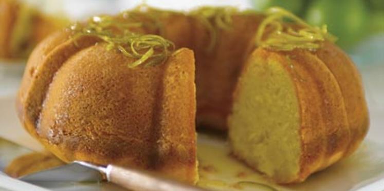 Gâteau au miel et son sirop de citron vert