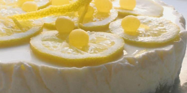 Cheesecake au citron à la mode de Dublin
