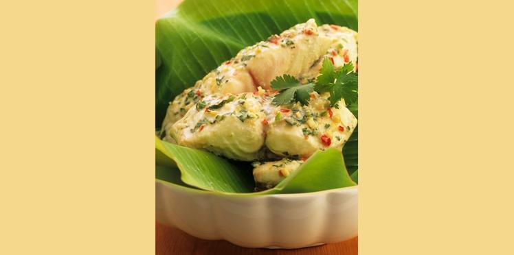 Filets de poisson à la noix de coco