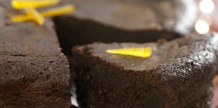 Gâteau chocolat-orange