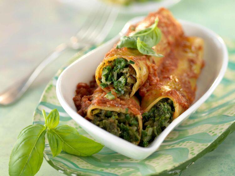 Cannellonis au basilic : découvrez les recettes de cuisine de Femme Actuelle Le MAG