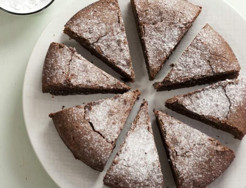Gâteau sans gluten chocolat - amandes