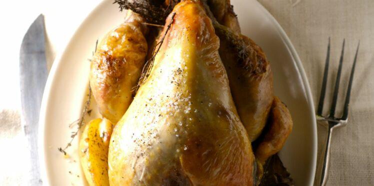 Cuisson poulet fermier