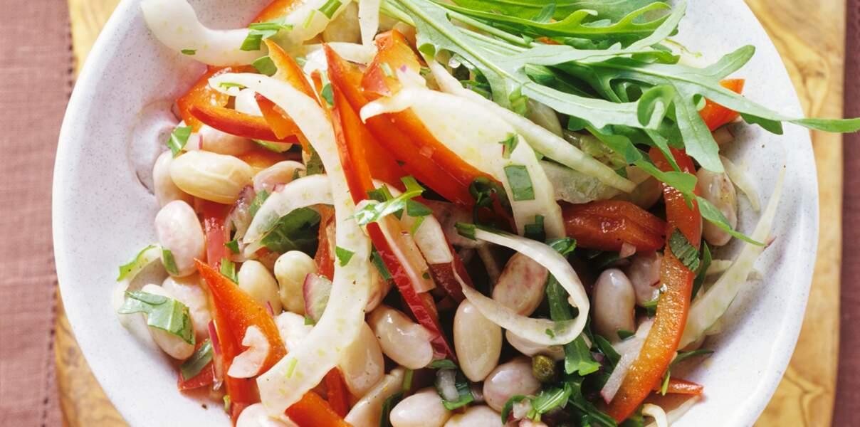 Salade de cocos frais