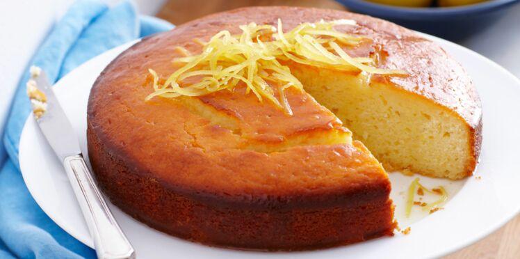 Gâteau au yaourt et citron confit