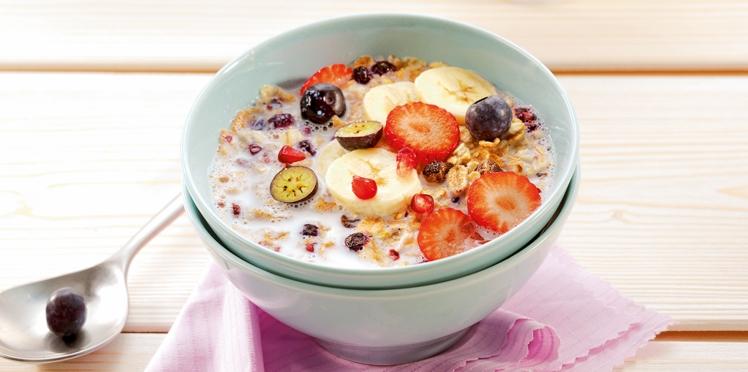 Bowl croustillant aux fruits