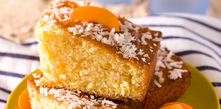 Génoise coco-abricots
