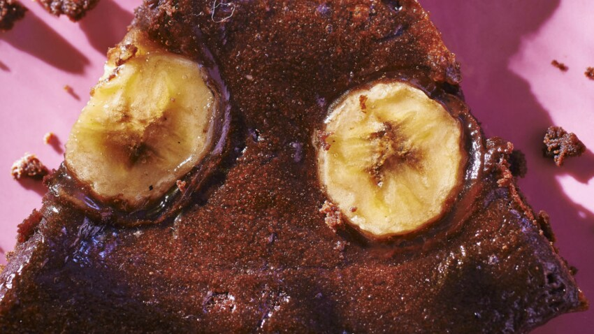 Tarte chocolat-banane