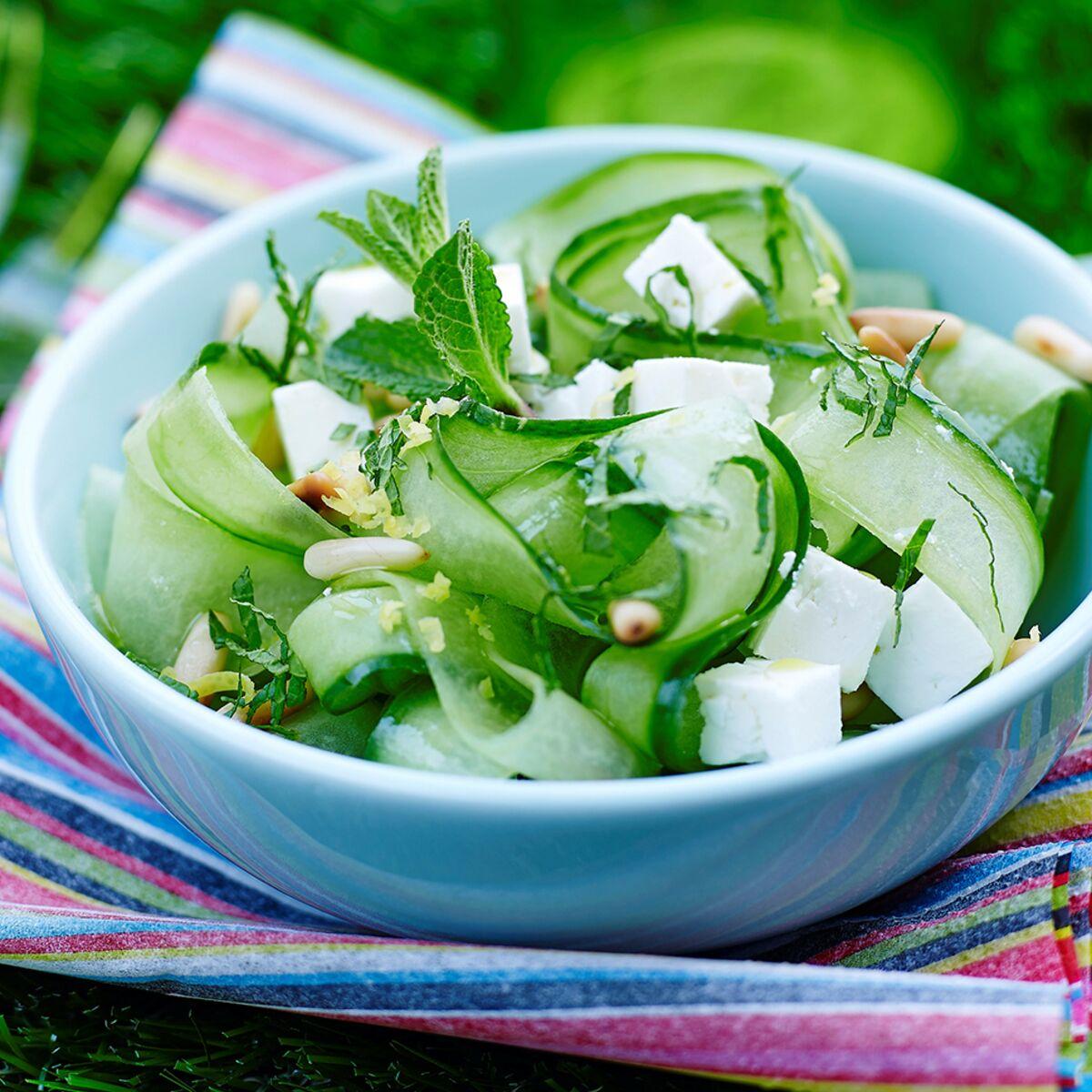 Concombre Amer En Salade Avec Une Qualité HD - Defond