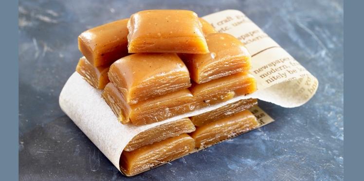 Petits caramels au beurre salé