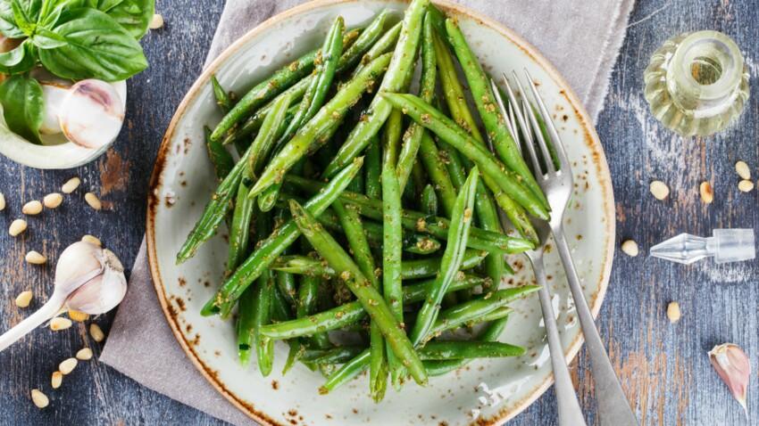 Salade de haricots verts à l'estragon